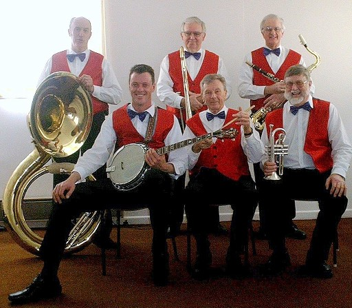 The Valley Stompers dixieland band